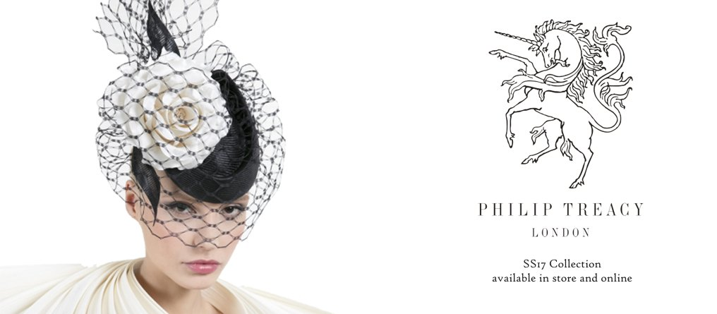 Philip Treacy Millinery available at Titfertat Richmond