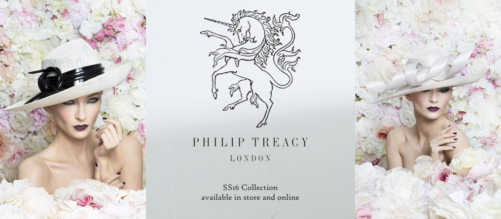 Philip Treacy SS16 stockist Richmond